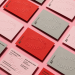 Aalto Junior brand identity by BOND