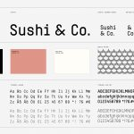 sushi co brand identity by BOND