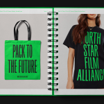 North Star Film Alliance brand identity by BONC